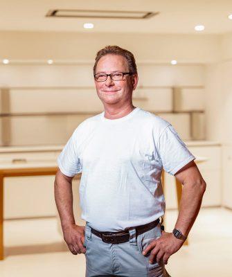 Portrait von Mitarbeiter Christof Poplawski
