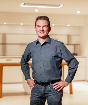 Portrait von Mitarbeiter Dirk Brandt