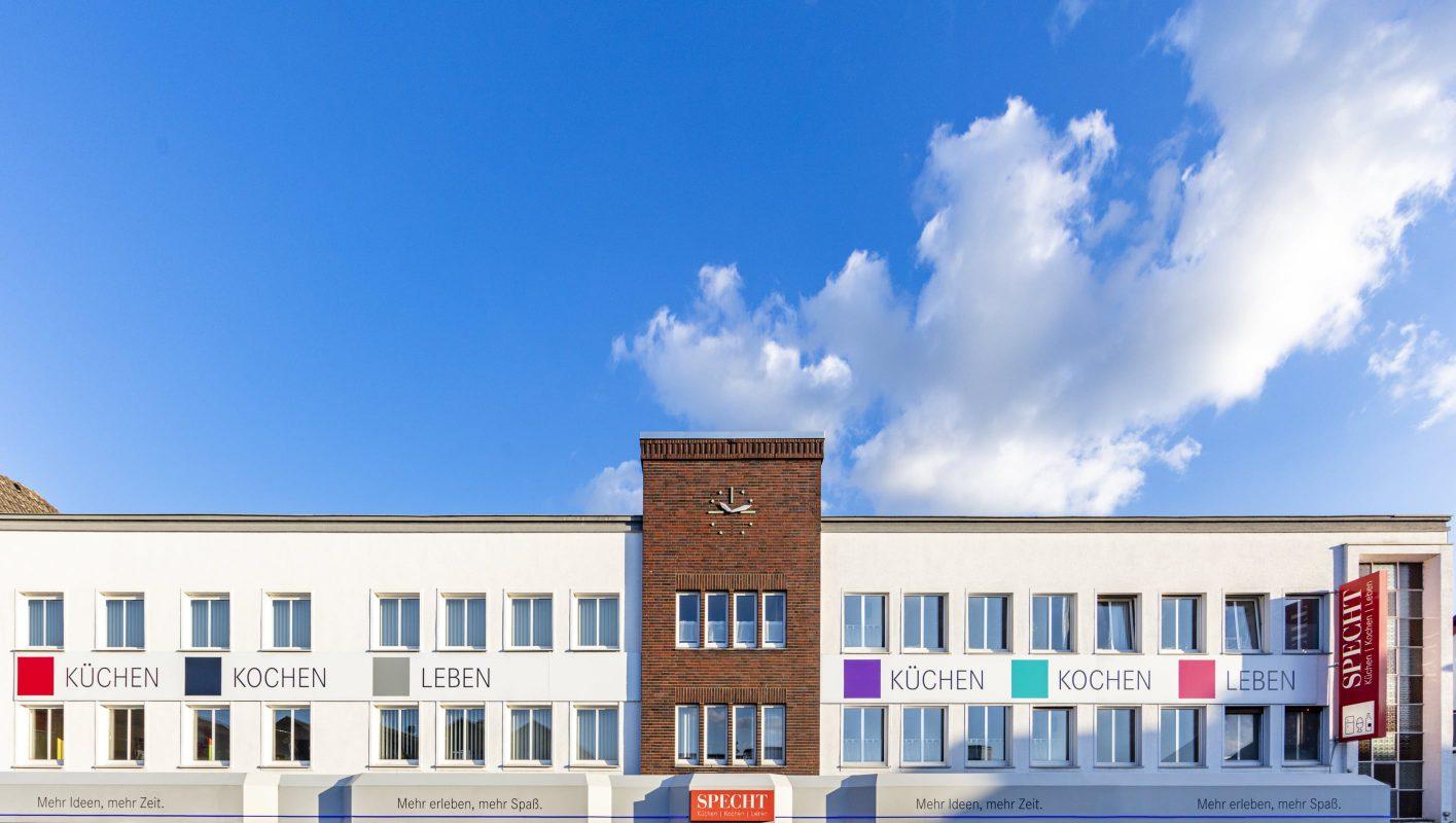 Fassade des Specht-Küchenstudios
