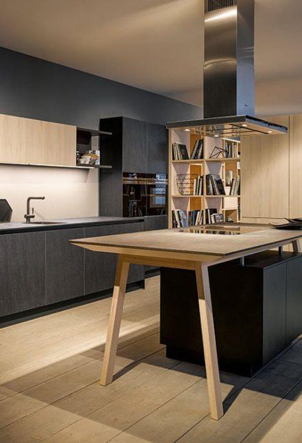 Küche in exklusiver Optik