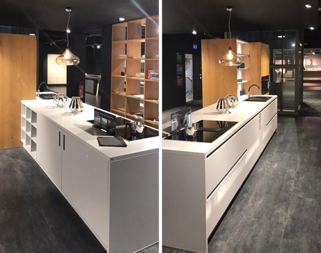 Ausstellungsküche Schüller NX500