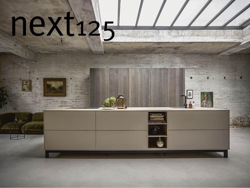 schlichte und formschöne next125-Küche