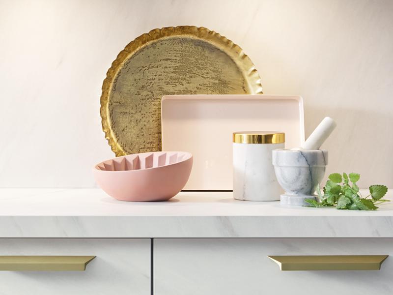 Pastellfarbene Küche von Schüller